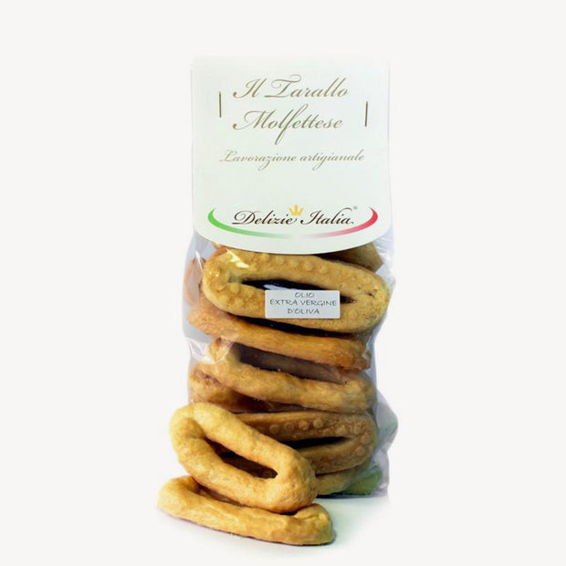 Taralli Scaldatelli of Pugliese Tradition