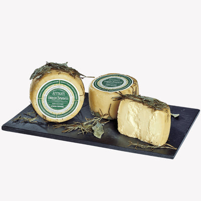 Aromatico Cheese Affined in Rosemary and Sage