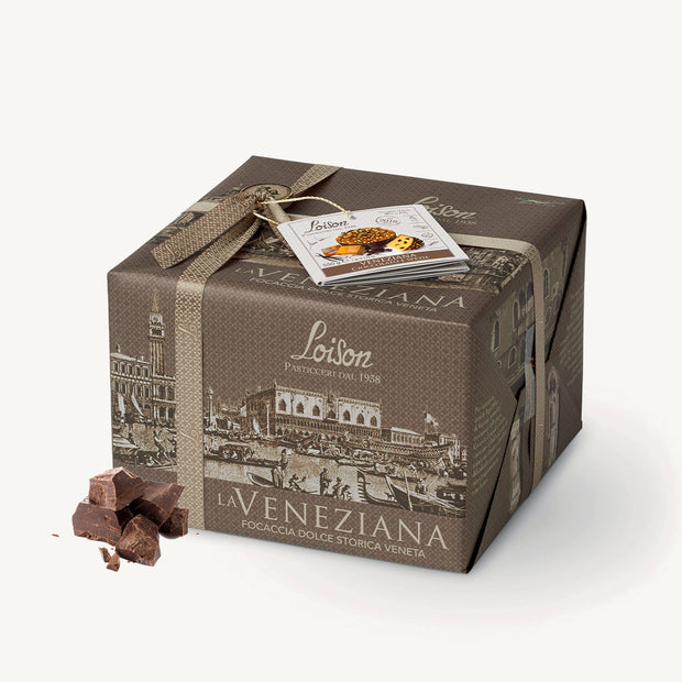Chocolate and Spices Veneziana Hand Wrapped