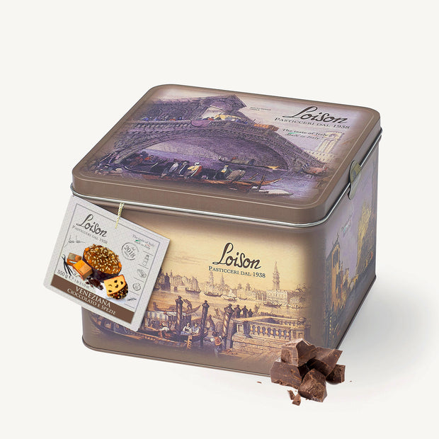 Chocolate and Spices Veneziana in Thin Box