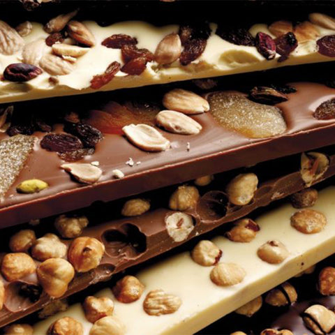 White Milk Chocolate with Dried Fruit