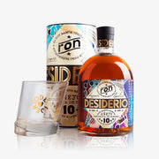 Ron Desiderio Rum 10 Year 70cl (Gift Box) + 2 Glasses