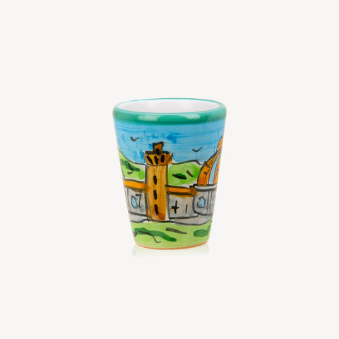 Memoritaly Firenze Handmade Painted Glasses (2 pcs)