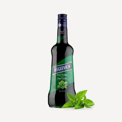 Keglevich & Pure mint Juice