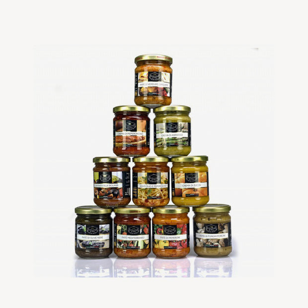 Italian Creams and Sauces Collection - ECCELLENZE DOLCETERRA