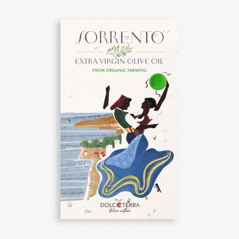 'SORRENTO' Marine Green - Dolceterra Olive Oil (Handmade Painted)