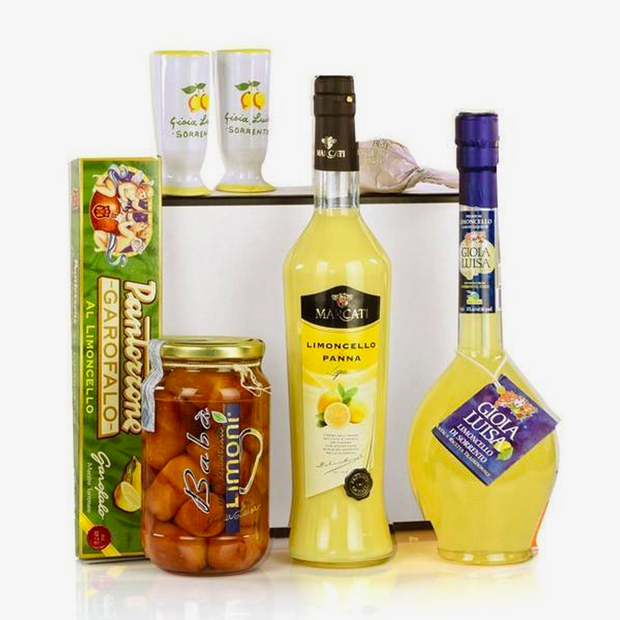 DOLCETERRA LEMON TASTE GIFT PACK - Fine Food Gifts | Italian Gift Baskets – Dolceterra Italian Within US Store‎