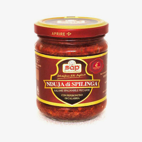 Nduja di spilinga 'the spreadable salami' - Fine Food Gifts | Italian Gift Baskets – Dolceterra Italian Within US Store‎