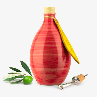 Memoritaly - 'Montalcino Red' Extra Virgin Olive Oil Reserve Jar