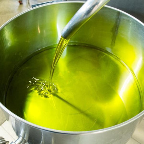 'SORRENTO' Amalfi Green - Dolceterra Olive Oil (Handmade Painted)