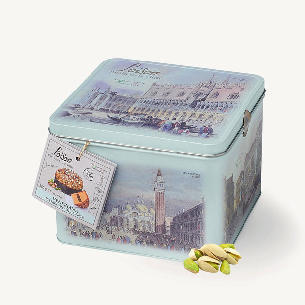 Pistachio Veneziana in Thin Box