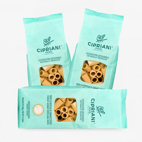 Rigatoni Cipriani - Organic (n° 3 packages)