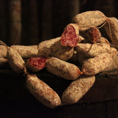 Rustic sausage from Norcia