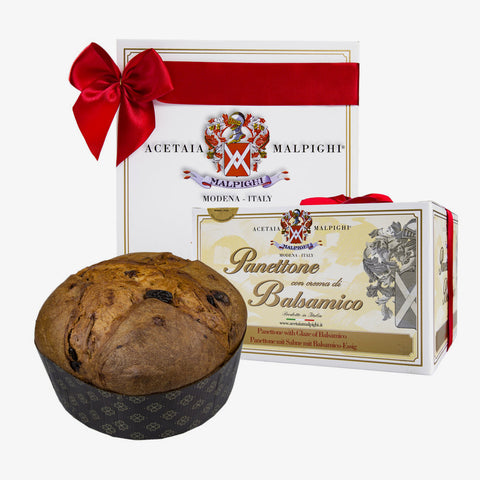 "Acetaia Malpighi - Panettone with cream of ""Balsamic Vinegar of Modena"" 2.20 lb"