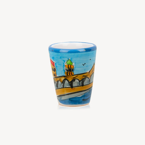 Memoritaly Venezia Handmade Painted Glasses (2 pcs)