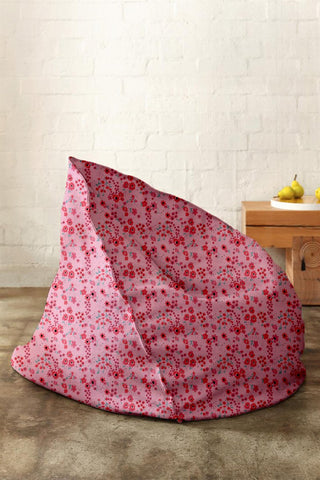 Pink Blossom Bean Bag - Haus and Sie