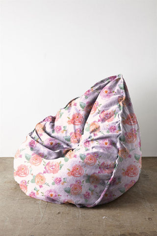 Painted Roses Bean Bag - Haus and Sie