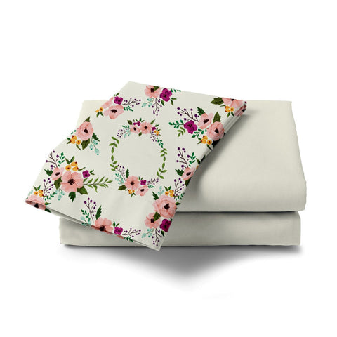 Blossom Bouquet Bed Sheet - Haus and Sie