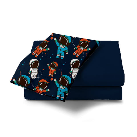 Spaceman Design Bed Sheet - Haus and Sie