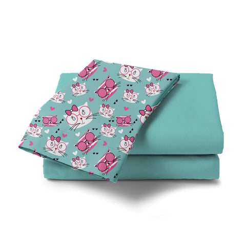 Meow Design Bed Sheet - Haus and Sie