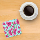Crayon Watermelon Printed wooden coasters - Haus and Sie