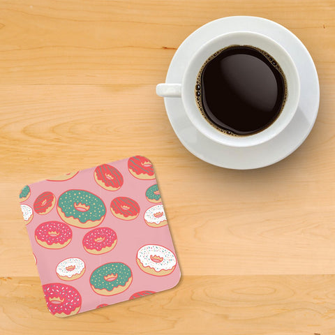 Doughnut Printed wooden coasters - Haus and Sie