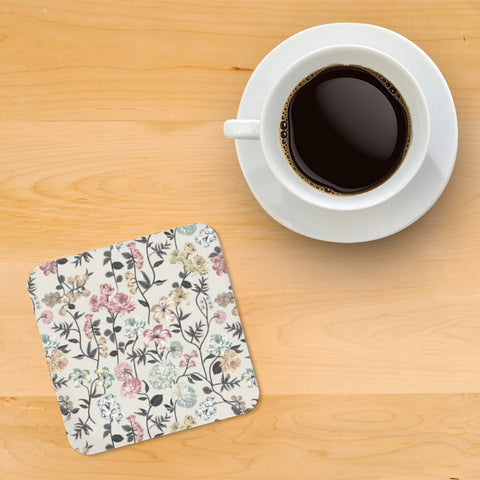 Floral Spring Printed wooden coasters - Haus and Sie