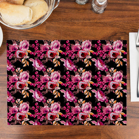 Rose Design Table Placemat - Haus and Sie