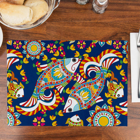 Quirk Fish Table Placemat - Haus and Sie