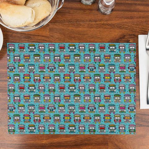 Trucks Design Table Placemat - Haus and Sie