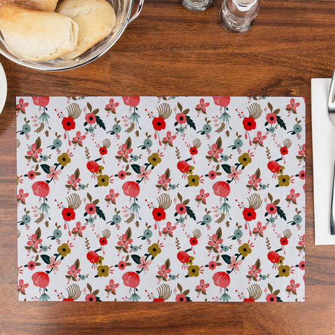 Painted Hibiscus Table Placemat - Haus and Sie