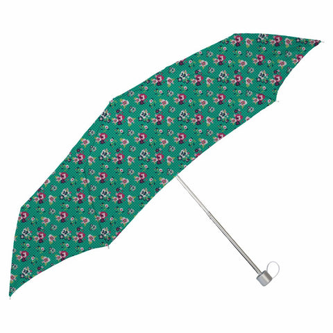 Green Daffodil Small Folding Umbrella - Haus and Sie