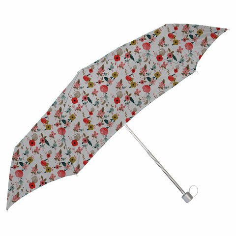 Painted Hibiscus Small Folding Umbrella - Haus and Sie