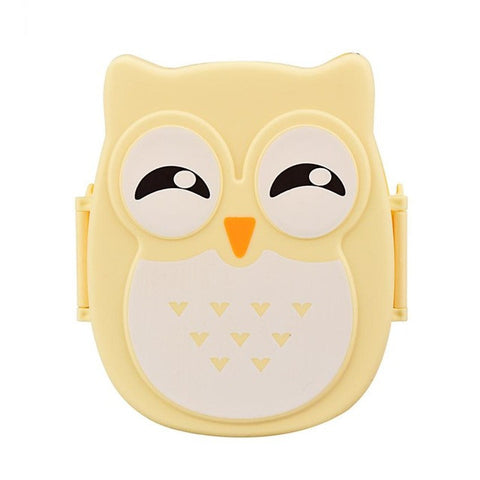 Owl Lunch Food Container Storage Box Portable Bento Box