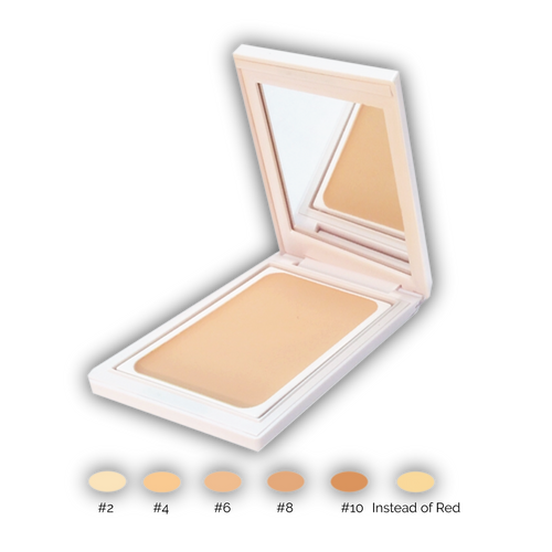Rosaceacare concealers with SPF 17, farge 10