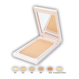 Rosaceacare concealers with SPF 17