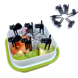 Purrrfect Picks™ (Set of 6 Food Forks)