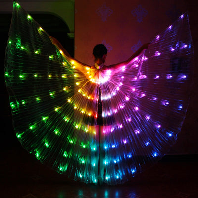 Angelic Dancing Wings - with LED Lights