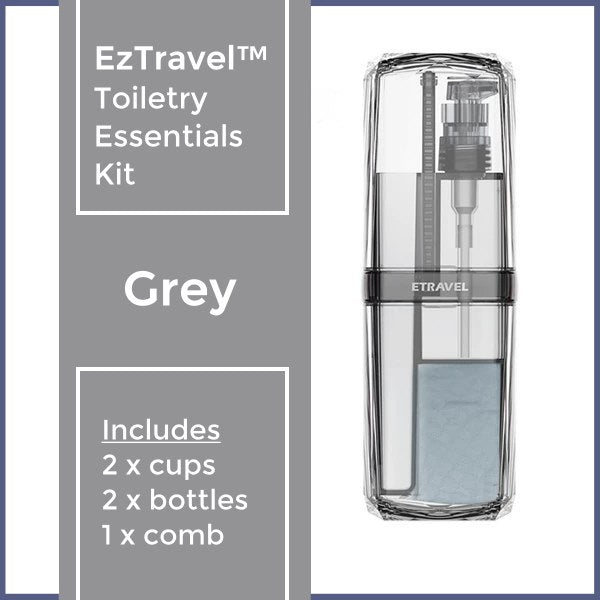 EzTravel™ Toiletry Essentials Kit
