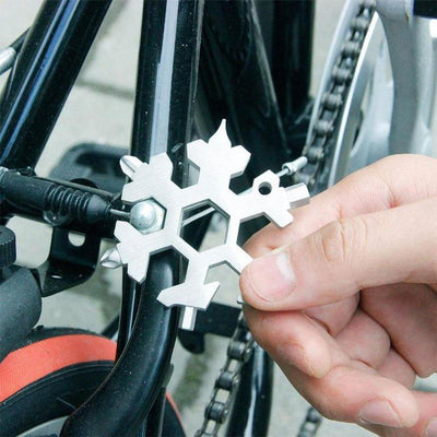 Snowflake™ 18-in-1 Stainless Steel Multi-Tool