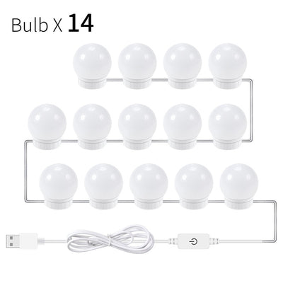 So Pretty™ Mirror LED Light Bulb Set