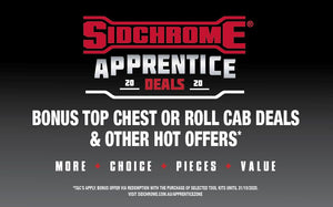 SIDCHROME 2020 Apprentice Deals Now Available