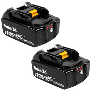 Makita 6.0ah Battery Twin Pack