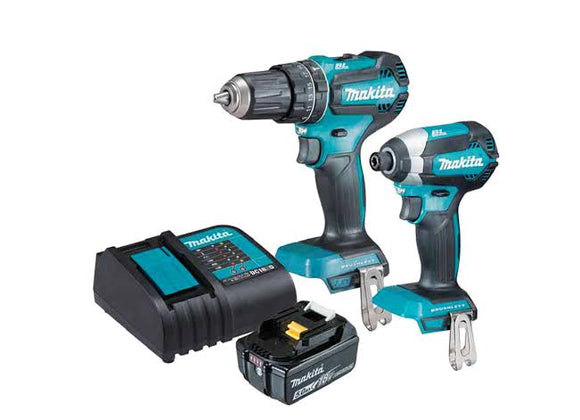 Makita 18V 2pc Brushless Kit