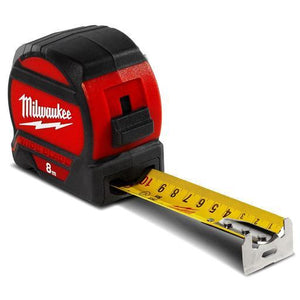 Milwaukee 8M Wide Blade Tape Measure