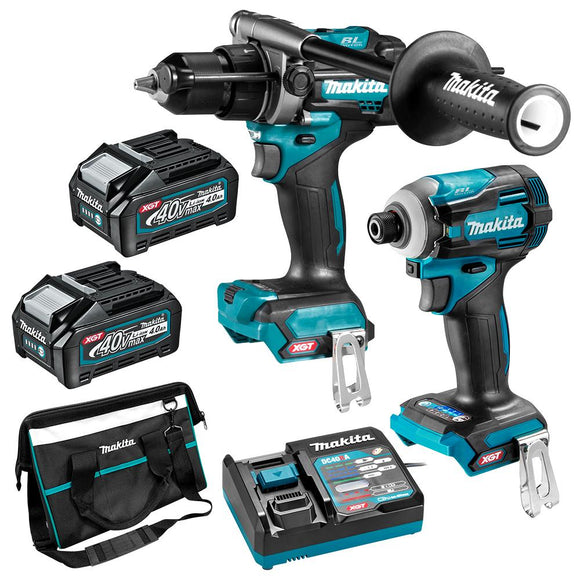MAKITA 40V MAX LI-ION XGT CORDLESS BRUSHLESS 2PCE COMBO KIT