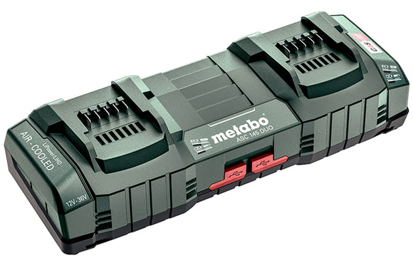 Metabo 12V - 36V Super Fast Dual Port Charger