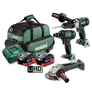 Metabo 18V 3 Piece Brushless LiHD Combo