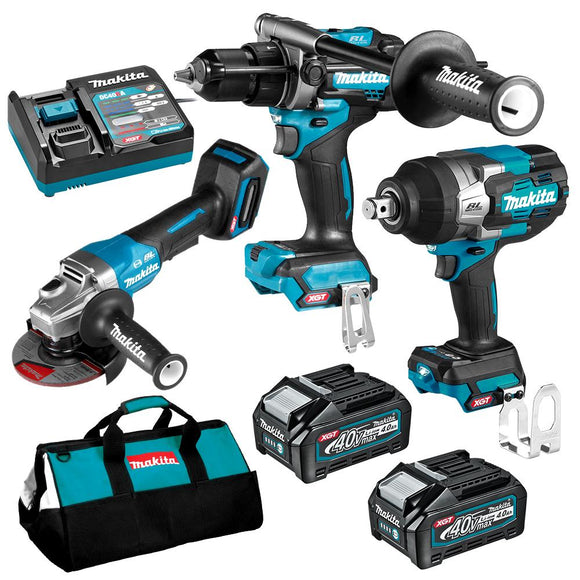 Makita 40V Max Li-ion XGT Cordless Brushless 3pce Combo Kit