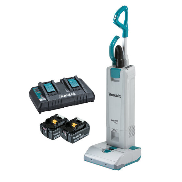 36V (18Vx2) Makita UpRight Vacuum Cleaner